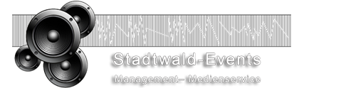 Stadtwald-Events - Management  Medienservice
